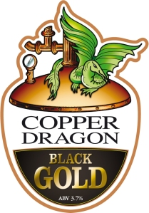 Black Gold Copper Dragon