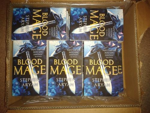 Bloodmage Stephen Aryan
