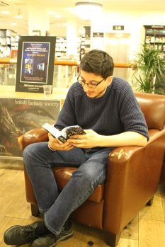 Bloodmage - Waterstones Sheffield Orchard Square1