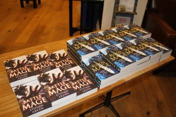 Bloodmage - Waterstones Sheffield Orchard Square3