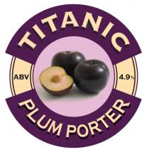 Plum Porter Titanic Brewery