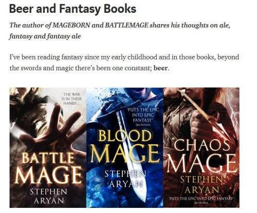 Beer and fantasy books Medium Article