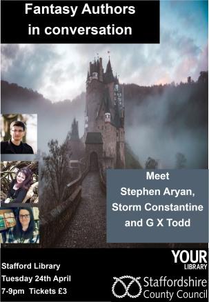Fantasy authors in conversation